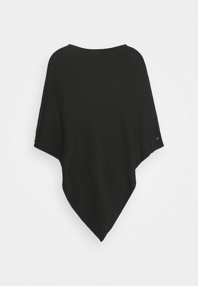 PONCH - Cape - black