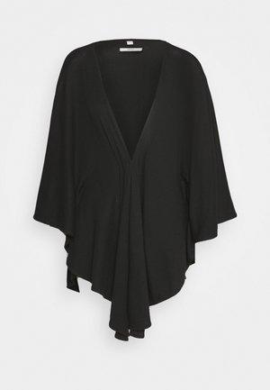 SOLID PONCH - Cape - black