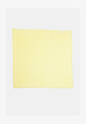 MEDIUM SIZE BANDANA - Halsdoek - light yellow