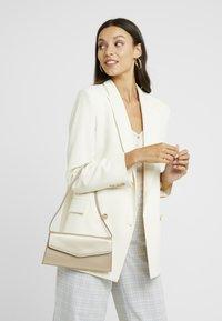 Esprit - MARGIE BAGUETTE - Handbag - beige - 1