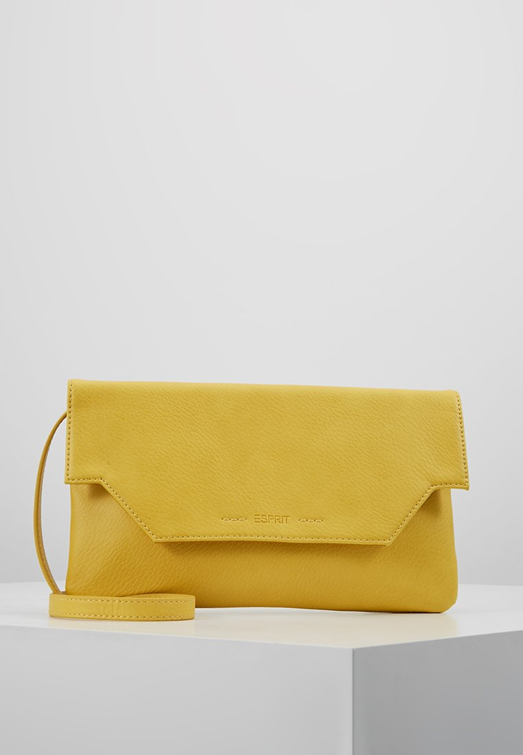 Esprit - MILA BAGUETTE - Clutch - yellow