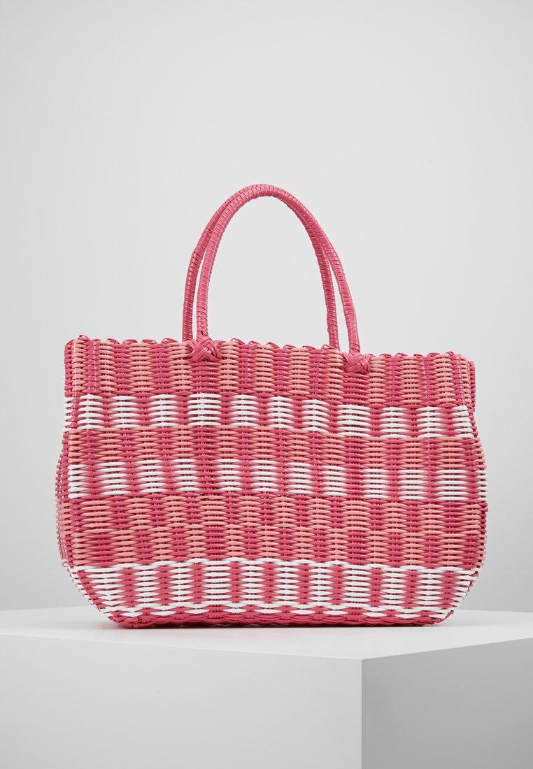 Esprit - TRISH SHOPPER - Shoppingväska - coral red