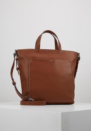 NELL - Handbag - rust brown