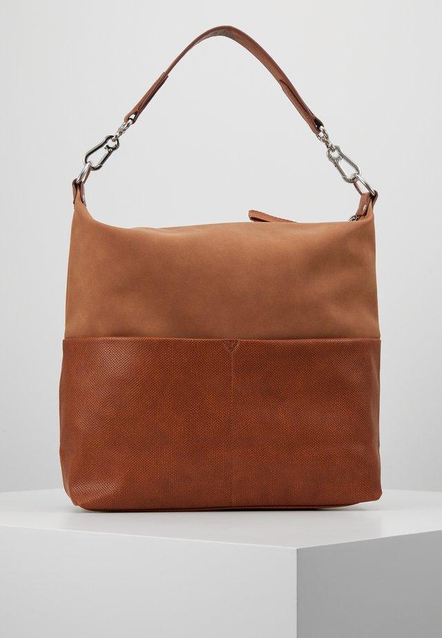 VIVIEN HOBO - Handväska - rust brown