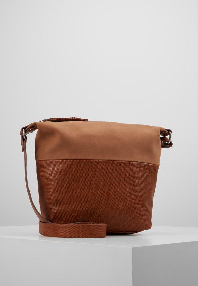 VIVIEN - Bandolera - rust brown