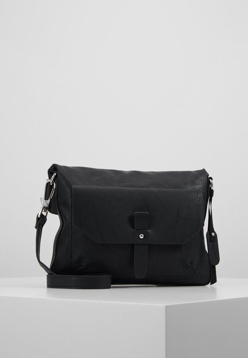 Esprit - ISA - Skuldertasker - black