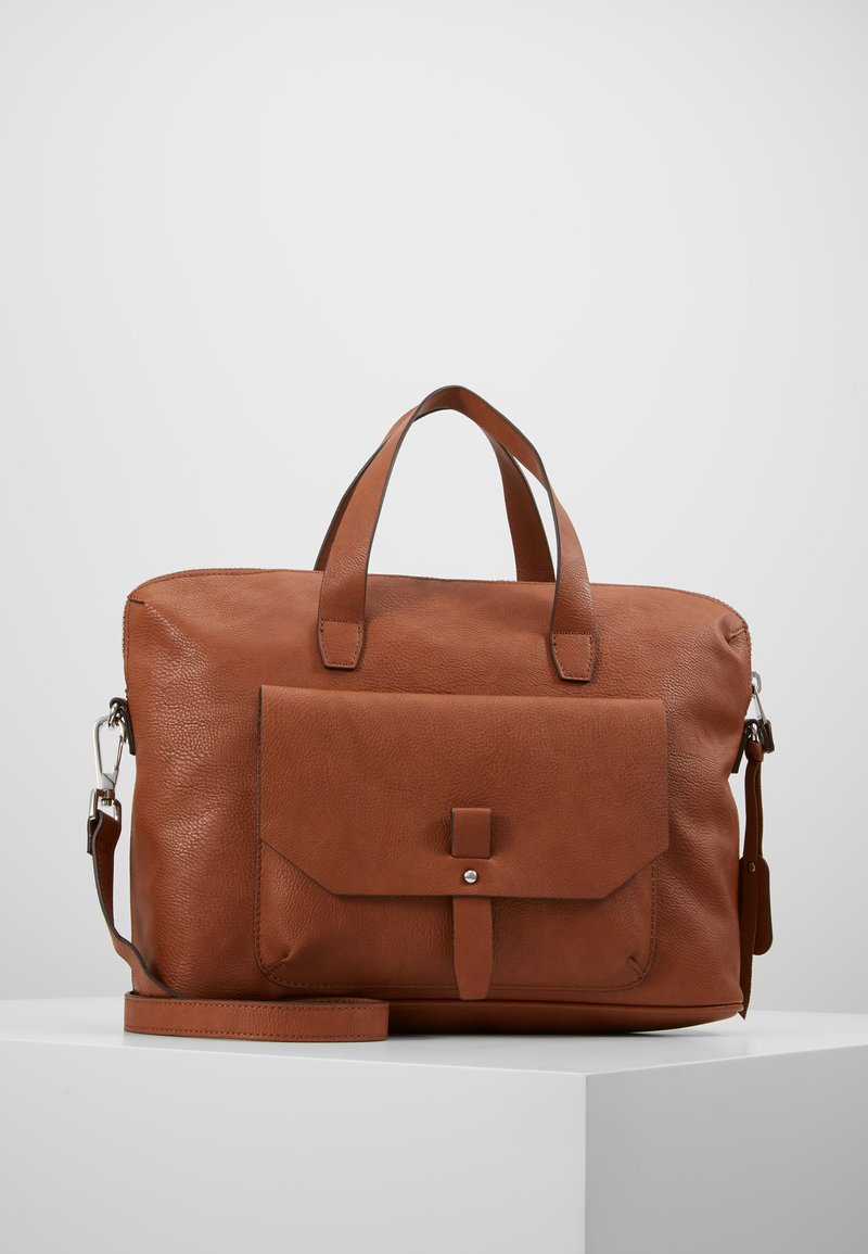 Esprit - ISA WORKING BAG - Handtas - rust brown