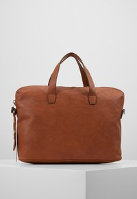 Esprit - ISA WORKING BAG - Handtas - rust brown - 2