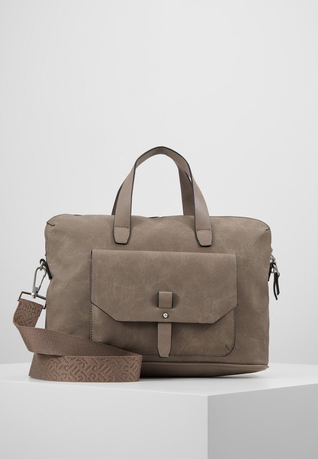 ISA WORKING BAG - Computertasker - taupe