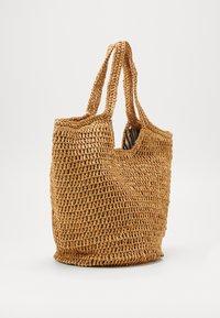 Esprit - DIDO SHOPPER - Tote bag - camel - 3
