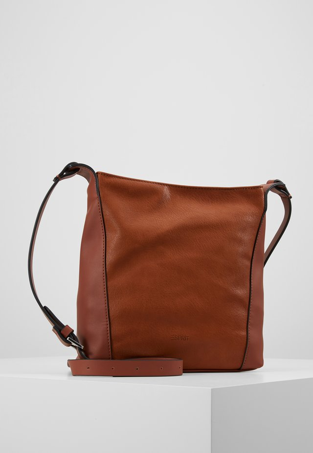 CARLY - Torba na ramię - rust brown