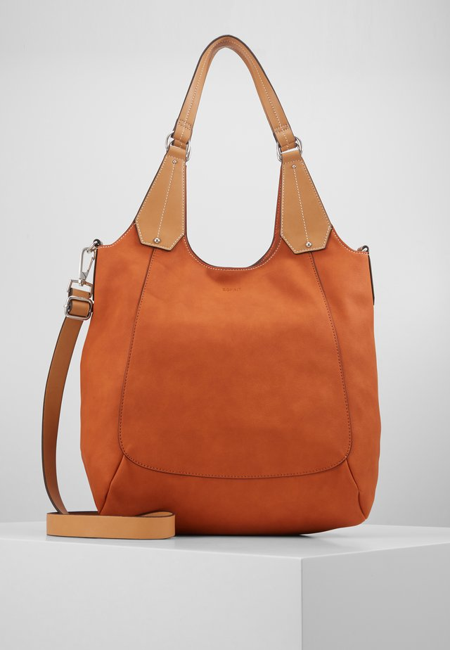 SHOPPER - Shoppingväska - burnt orange