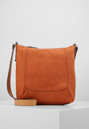 Handbag - burnt orange