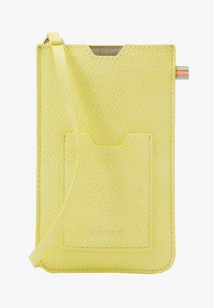 DENISE - Taška spříčným popruhem - light yellow