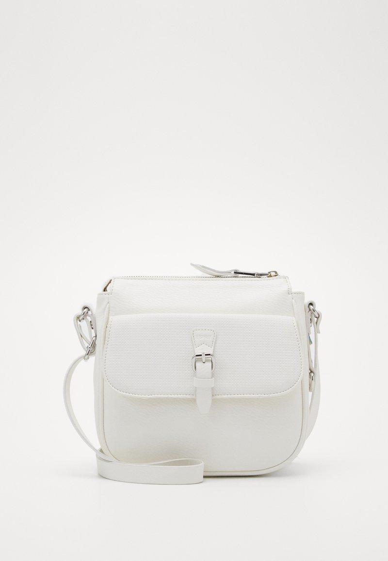 Esprit - DORA - Taška spříčným popruhem - off white