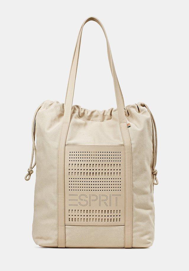 FASHION TOTE BAG - Shopping Bag - light beige
