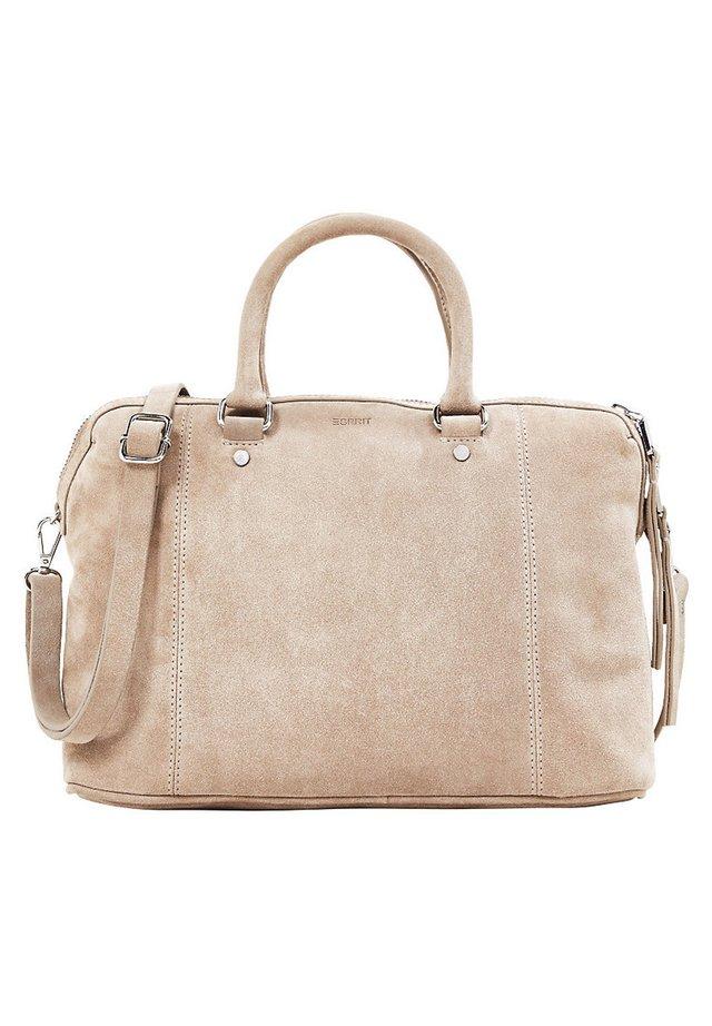 SHOPPER AUS 100% VELOURSLEDER - Shopping Bag - beige