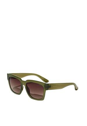 SONNENBRILLE MIT TRANSPARENTEM RAHMEN - Sunglasses - green
