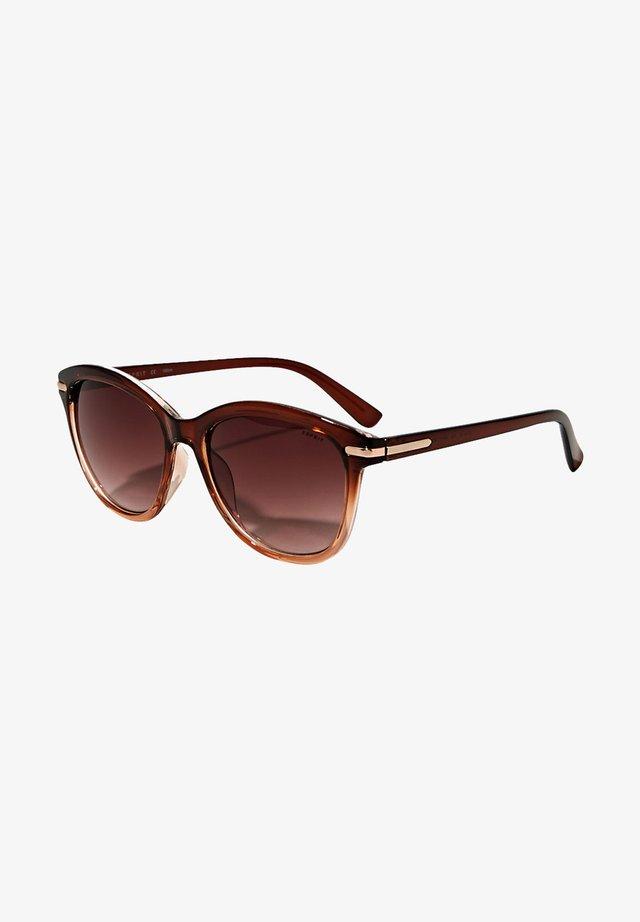 SONNENBRILLE MIT FARBVERLAUF - Solglasögon - brown