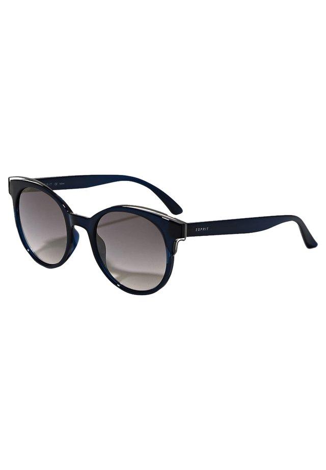 SONNENBRILLE MIT METALL-AKZENTEN - Sonnenbrille - blue