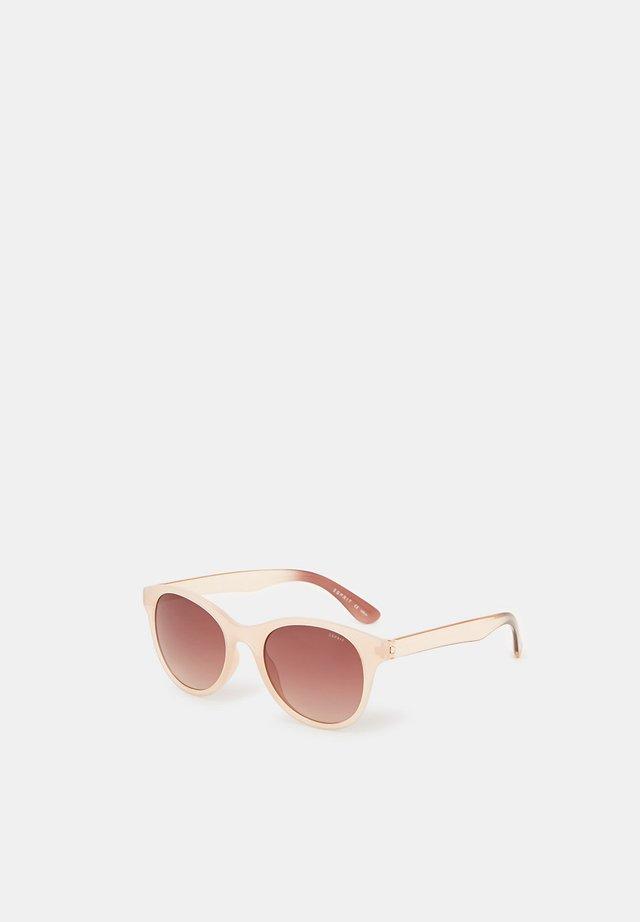 SONNENBRILLE MIT ZEITLOSEM DESIGN - Sonnenbrille - beige
