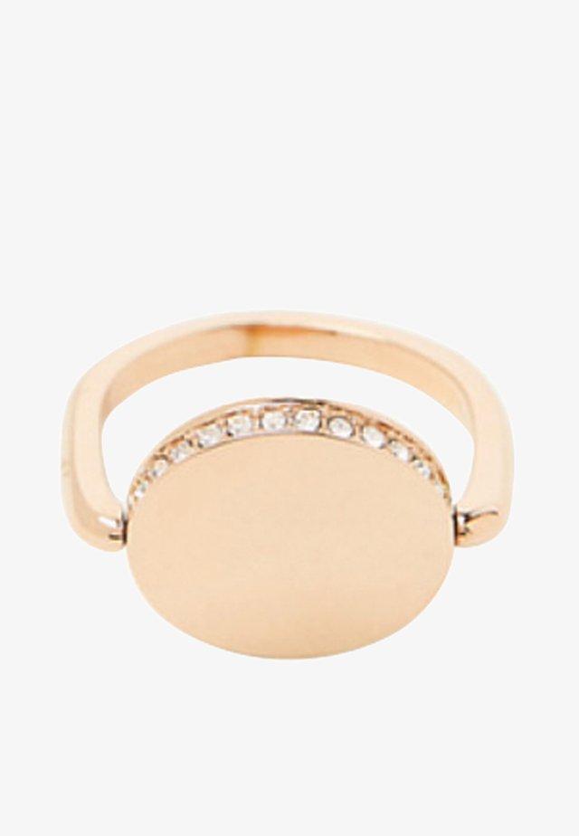 MIT ZIRKONIA - Ring - gold-coloured