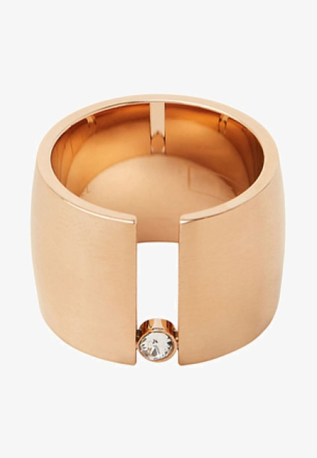 MIT ZIRKONIA-STEIN - Ring - rose gold