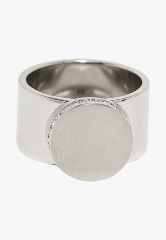 MIT ZIRKONIA - Ring - silver