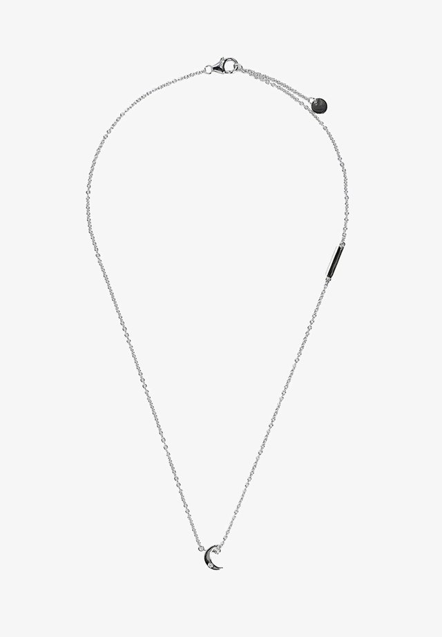 MIT ZIRKONIA-ANHÄNGER - Ketting - silver-coloured