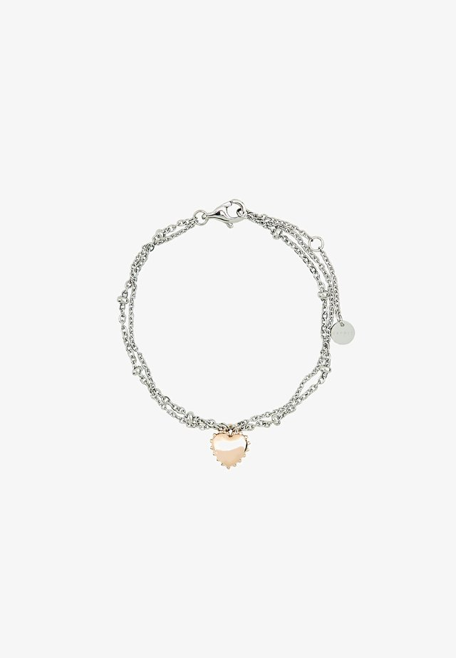 MIT HERZ - Armband - rose gold-coloured