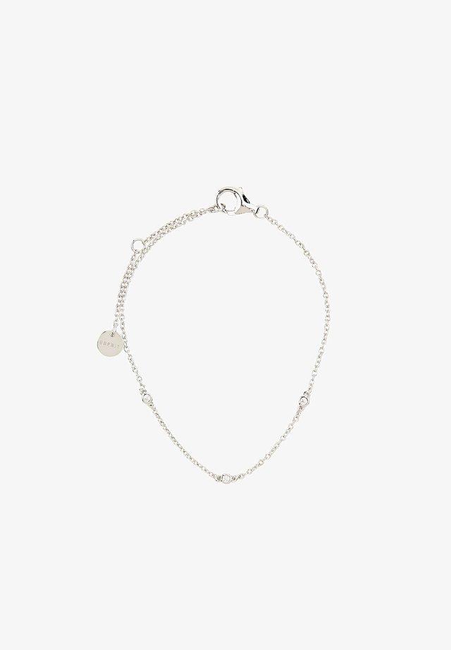 MIT ZIRKONIA - Armband - silver-coloured