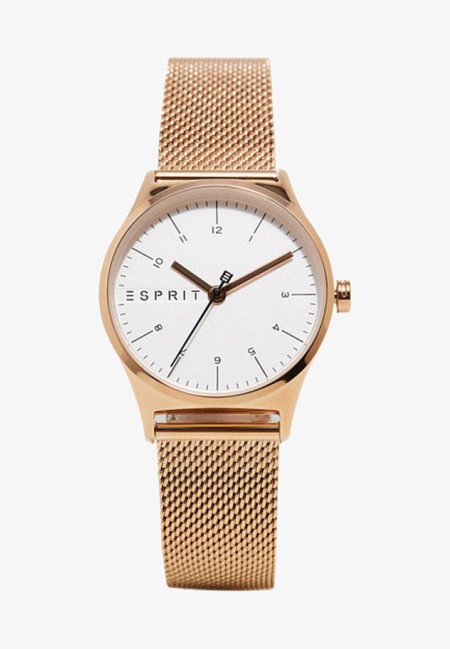 Uhr - gold coloured
