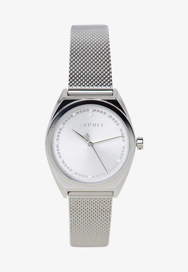 Uhr - sliver-coloured