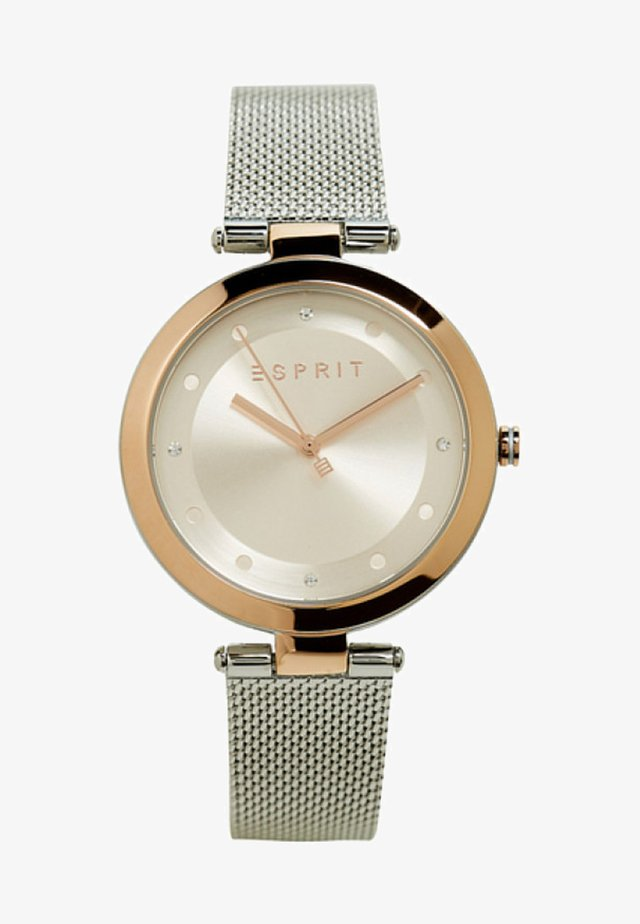 MIT MESH-ARMBAND - Uhr - silver