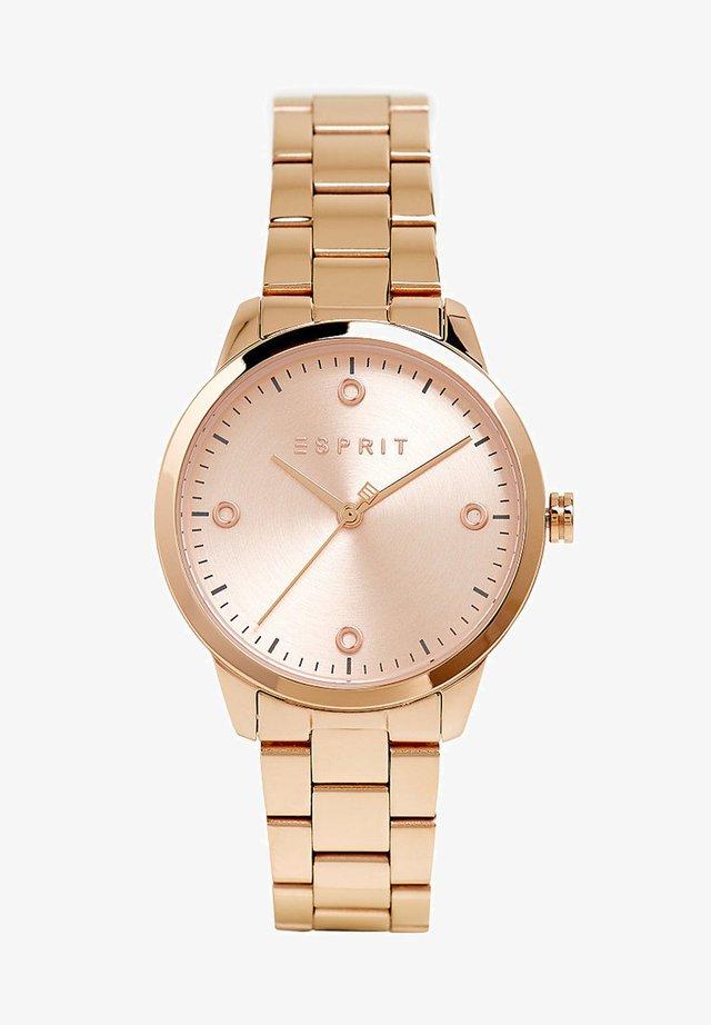 MIT GLIEDERARMBAND - Uhr - rose/gold-coloured