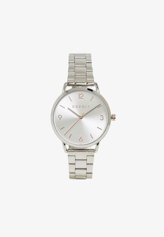 MIT GLIEDERARMBAND - Uhr - silver-coloured