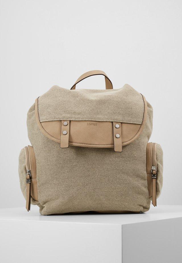 CARA BACKPACK - Rucksack - khaki/beige