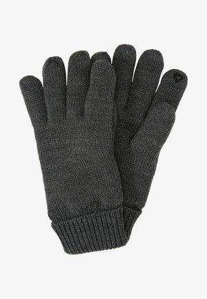 LINED GLOVES - Fingerhandschuh - dark grey