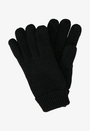 LINED GLOVES - Gloves - black
