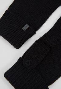 Esprit - BASIC GLOVES - Gloves - black - 3