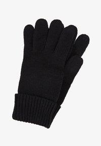 Esprit - BASIC GLOVES - Gloves - black - 0