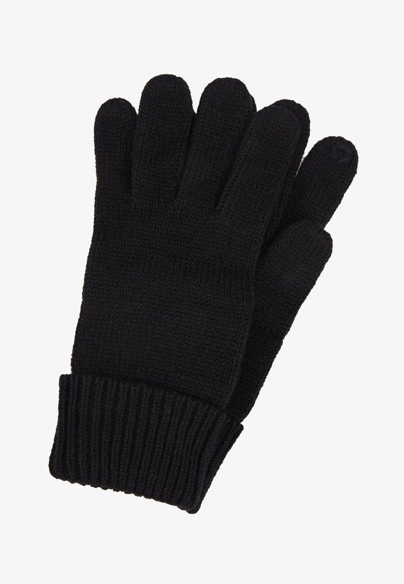 Esprit - BASIC GLOVES - Gloves - black