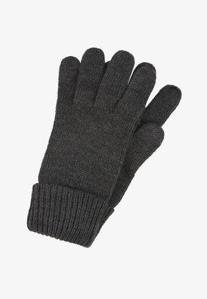 BASIC GLOVES - Fingerhandschuh - dark grey