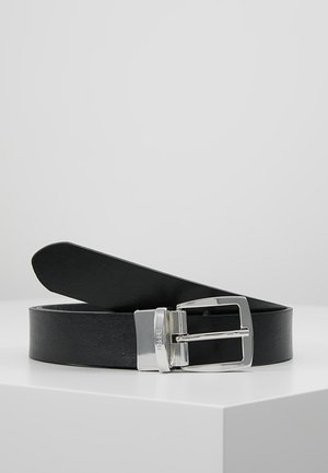 REVERSIBLE BELT - Bælter - black