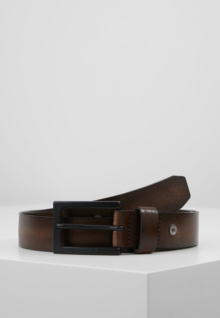Esprit - BASIC BELT - Belt - rust brown