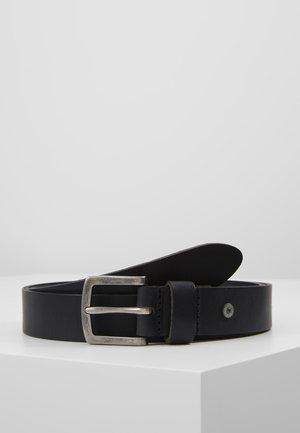 SLIM CASUAL BELT - Pásek - black