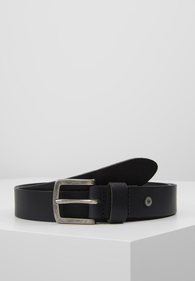 SLIM CASUAL BELT - Gürtel - black