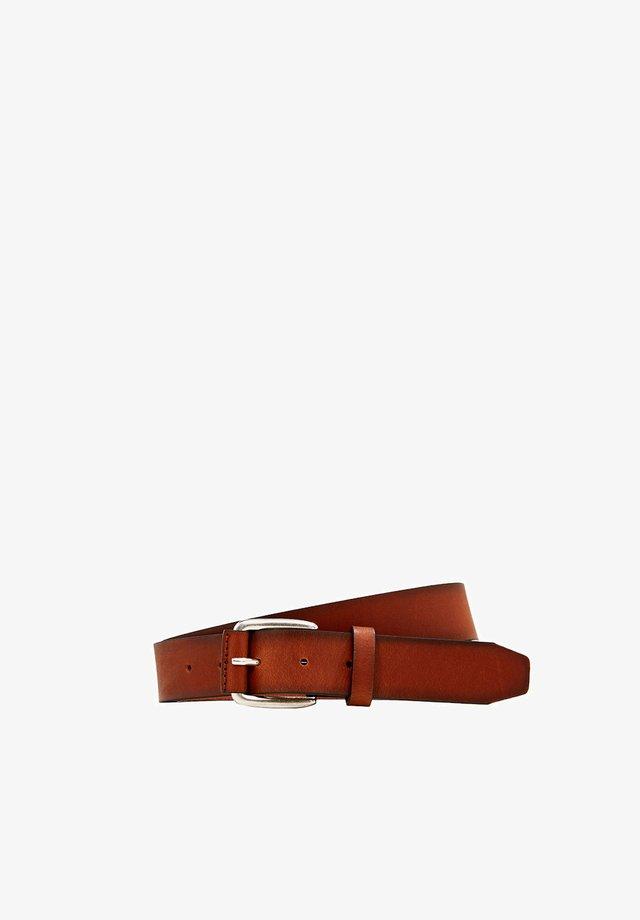 Bælter - rust brown