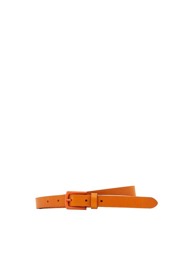 SLIM BUBE BELT - Belt - orange