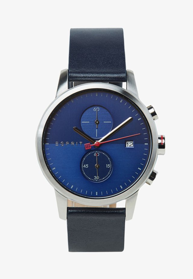 Chronograph watch - blue-coloured